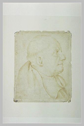 Portrait du moine Léonard Wagner