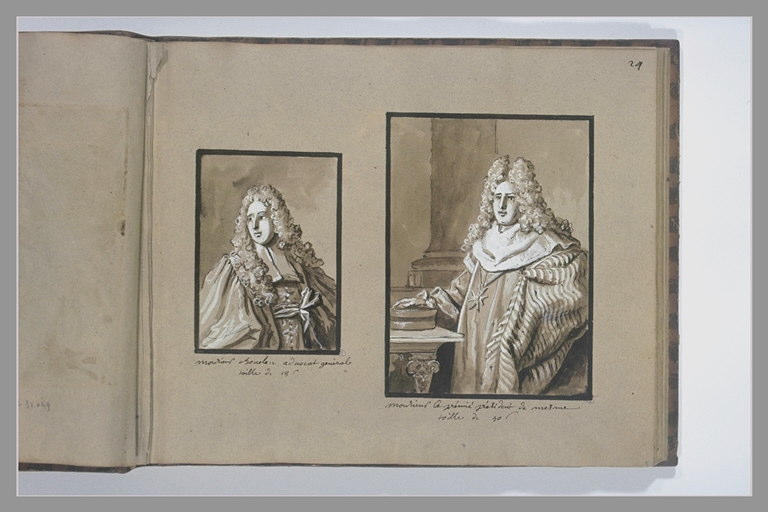 OUDRY Jean-Baptiste : Portrait de Germain-Louis Chauvelin, avocat général
