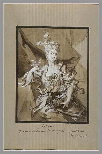 Portrait de la marquise de Puységur