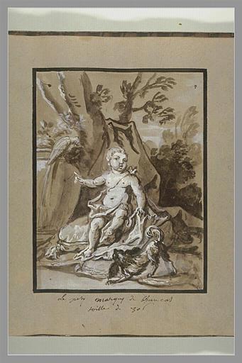 OUDRY Jean-Baptiste : Portrait du marquis Louis de Brancas