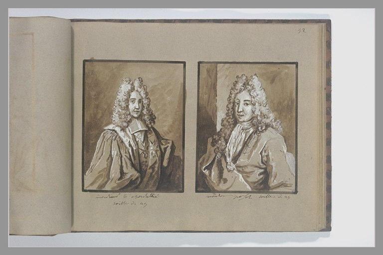OUDRY Jean-Baptiste : Portrait de monsieur Pajot