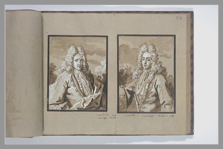 OUDRY Jean-Baptiste : Portrait de la marquise de Moy