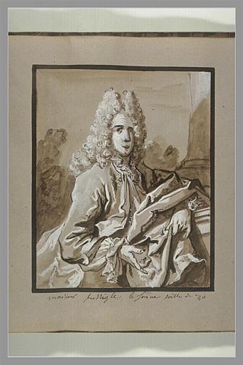 Portrait de monsieur Fuselier le jeune