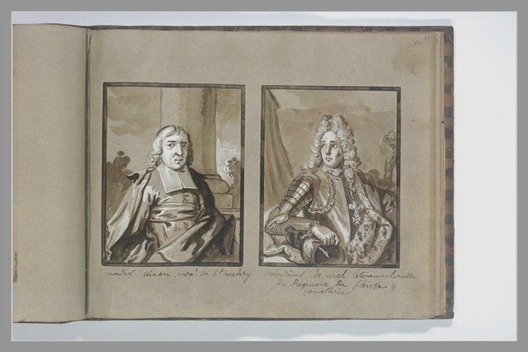 OUDRY Jean-Baptiste : Portrait du lieutenant-colonel de Vial