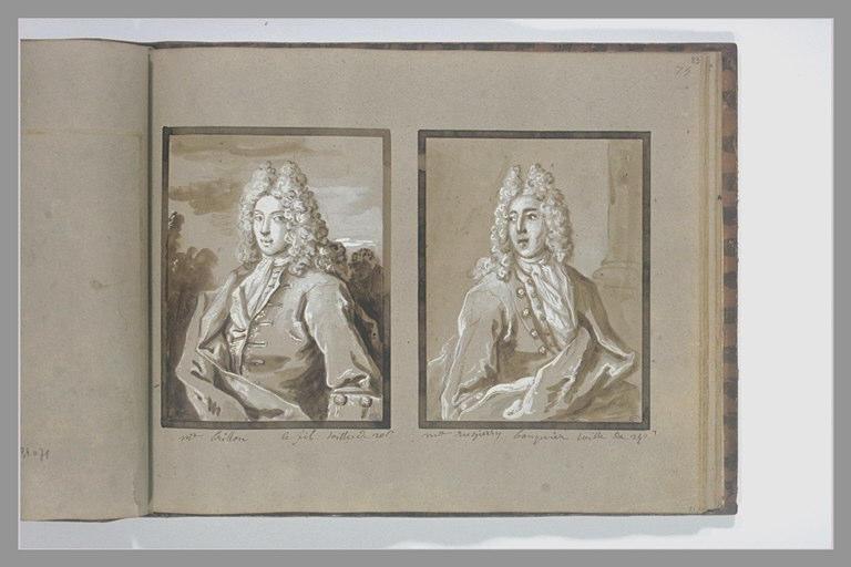 Portrait de monsieur Crillon ou Brillon