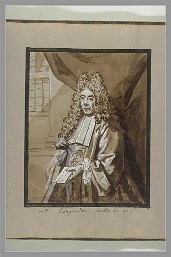 Portrait du lieutenant-général, Marc-René de Voyer d'Argenson