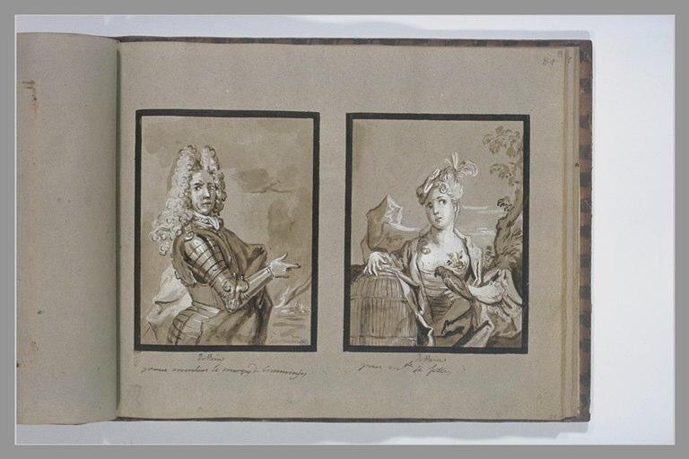 OUDRY Jean-Baptiste : Portrait du marquis de Comminges