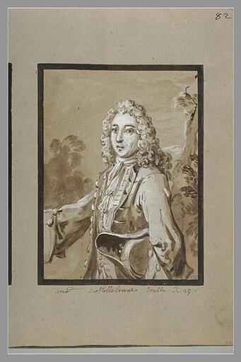 Portrait de monsieur de Castellenne