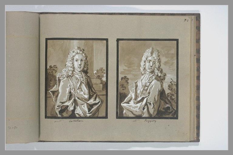 OUDRY Jean-Baptiste : Portrait de monsieur de Castellan