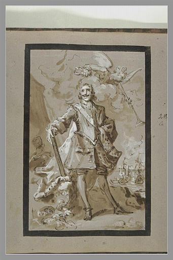 Portrait du Tsar Pierre Ier