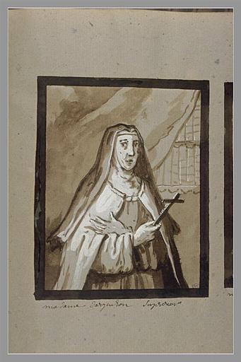 Portrait de Marie-Scolastique Voyer d'Argenson_0