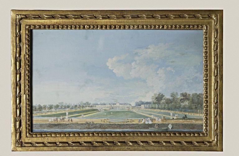 Vue du château de Chanteloup, et au premier plan, La Frégate_0