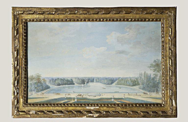 BLARENBERGHE Louis Nicolas van (attribué à) : Le lac de Chanteloup