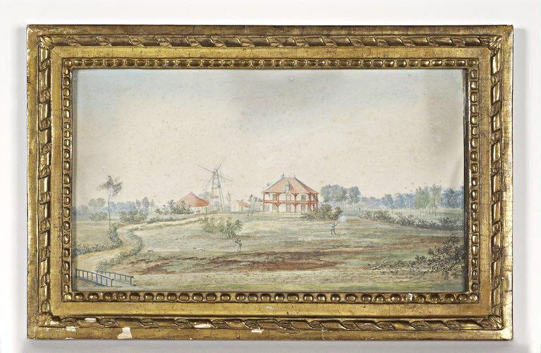BLARENBERGHE Louis Nicolas van (attribué à) : Le moulin de Chanteloup