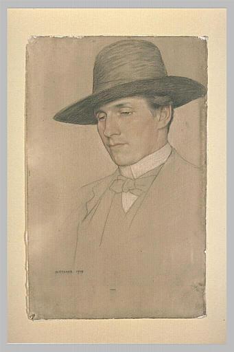 Portrait de Monsieur Edward Gordon Craig
