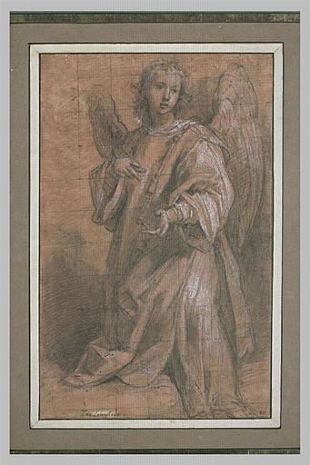 Un ange vêtu en diacre