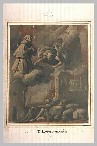 Un cardinal invoquant la miséricorde divine pour la cessation de la peste