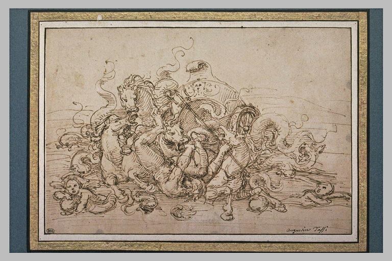 Mort d'Hippolyte