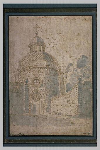 Vue de l'église San Bernardo, à Rome