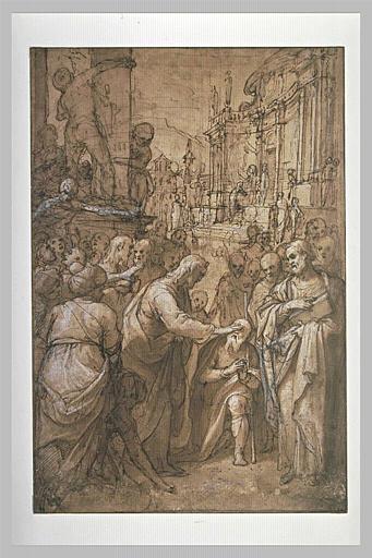 Le Christ rendant la vue à un aveugle