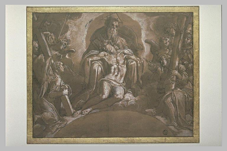 Le Christ mort soutenu par Dieu