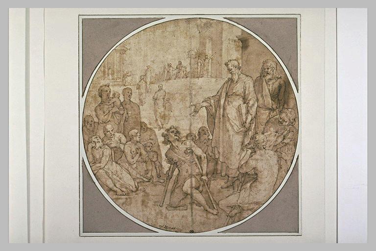Guérison de l'infirme de Lystra par saint Paul et saint Barnabé