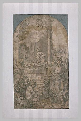 Saint Pierre ressuscitant Tabita