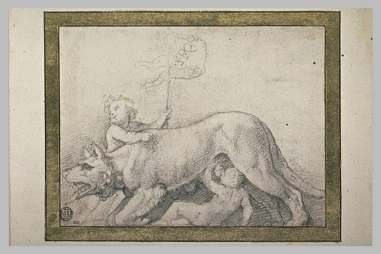 La Louve nourrissant Romulus et Remus