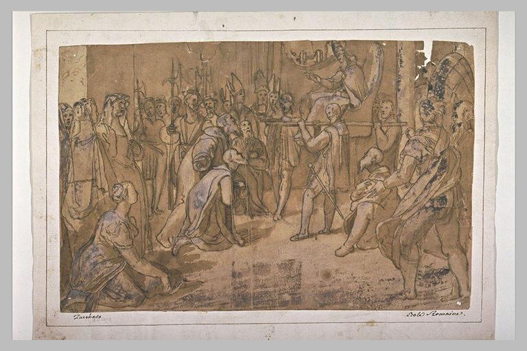 Soumission de la ville de Pérouse au Pape Paul III