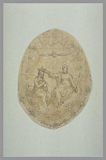 ZUCCARO Federico : Couronnement de la Vierge dans le ciel