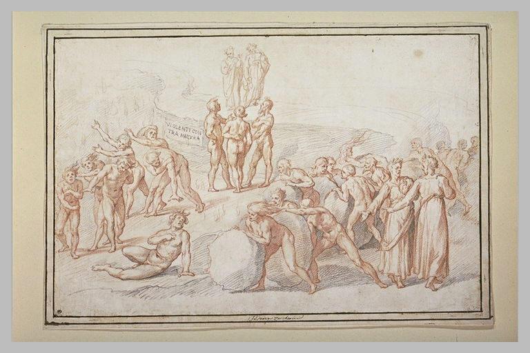 Voyage de Dante et Virgile aux Enfers