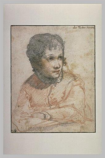 Jeune femme, en buste