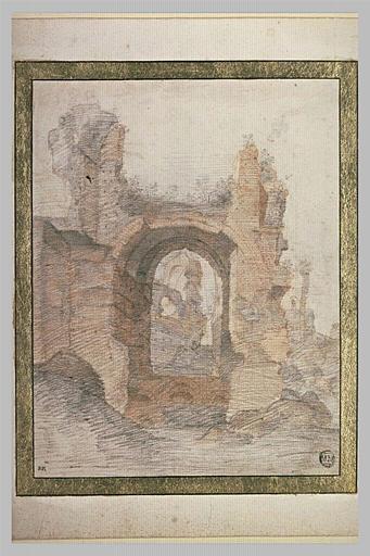 Ruines d'une construction antique