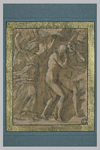 Adam et Eve chassés du Paradis