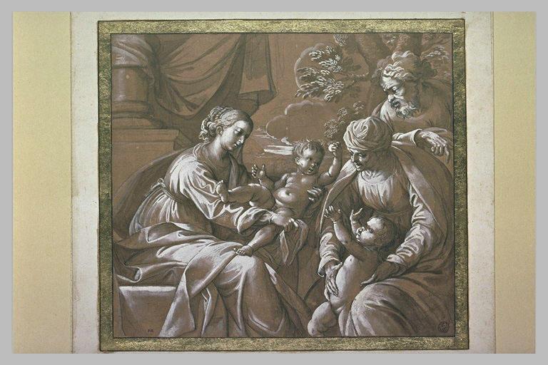 Vierge à l'Enfant avec saint Jean-Baptiste, sainte Anne et saint Joseph