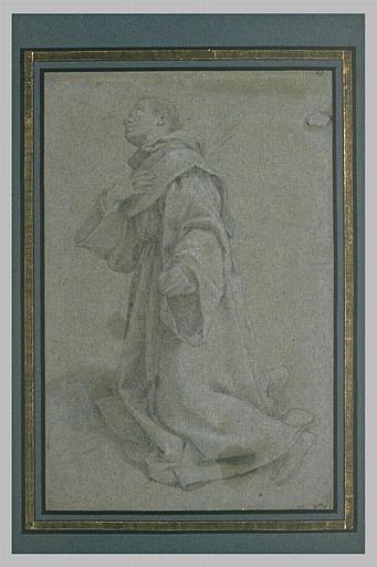 Saint Antoine de Padoue en prière