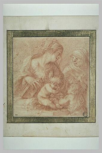 La Vierge et l'Enfant avec sainte Elisabeth et le petit saint Jean