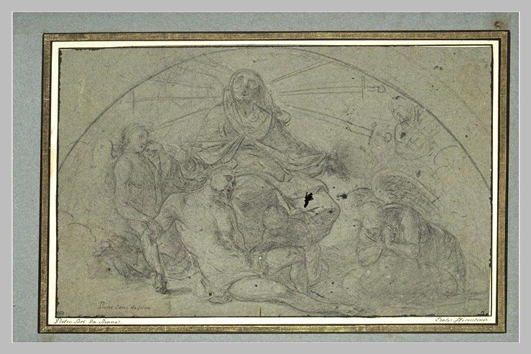 Le Christ Mort pleuré par les anges et la Vierge des sept douleurs