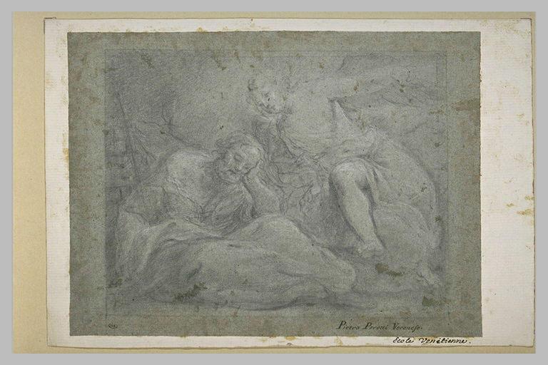 L'ange apparaissant à saint Joseph