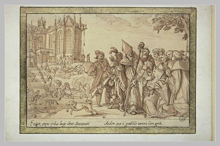 Saint Annon fonde Sainte Marie aux Marches de Cologne
