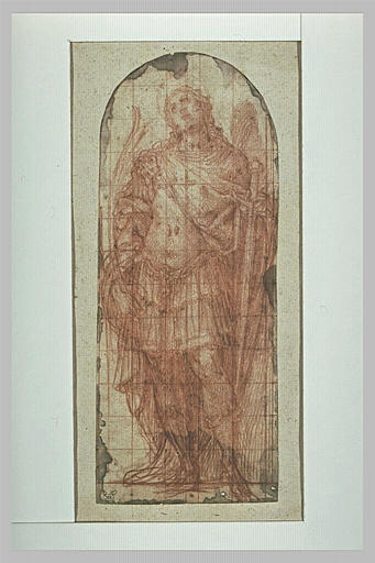 Saint Paul debout, vu de face