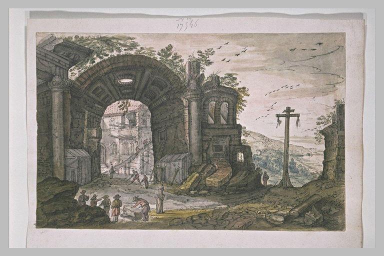 Paysage et ruines