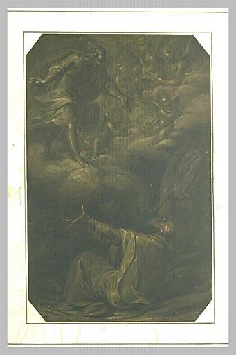 Le Christ apparaissant à saint Antoine tourmenté par les démons