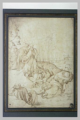 Le Christ en prière au Jardin des oliviers