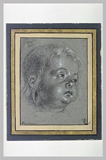 Une tête d'enfant