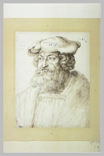 Portrait en buste de Frédéric de Saxe, dit Le Sage