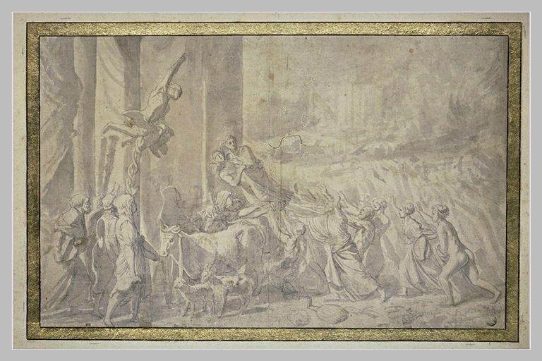 Contento : Jupiter ordonne à Mercure d'enlever la Fortune