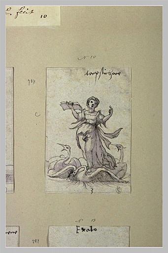 Terpsichore, muse des Choeurs, de la Danse et de la Poésie lyrique_0