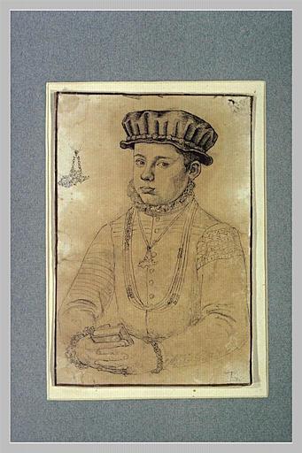 Portrait d'un jeune seigneur, vu à mi-corps