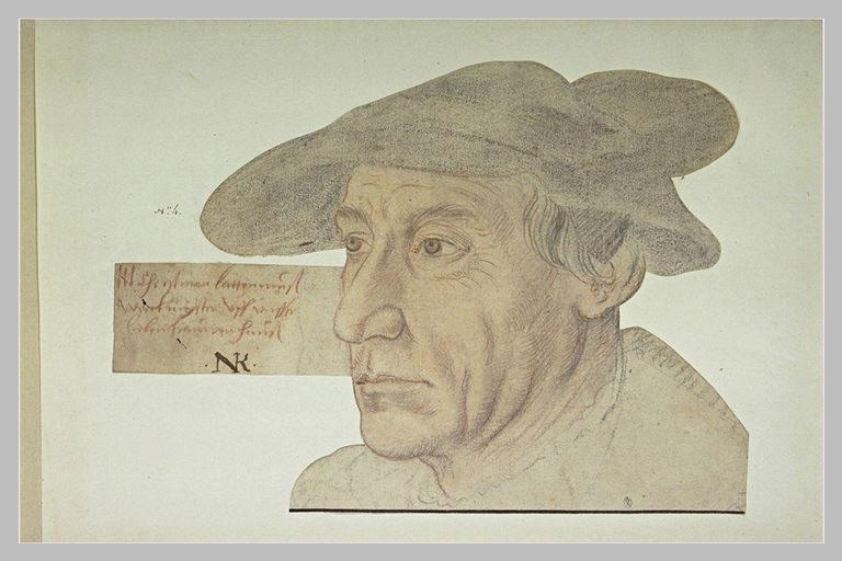 Portrait de Christman Lattenmuss, maître des travaux
